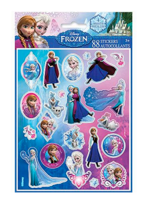 Disney Frozen Sticker 4-count Sheets (88 stickers) Only $0.99 + FREE Store Shipping!