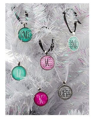 Monogram Christmas Ornaments Only $9.99 + FREE Shipping!