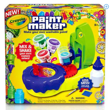 Crayola Paint Maker Only $18.88 + FREE Store Pick Up (Reg. $25)!