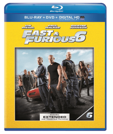 Fast & Furious 6 On Blu-ray DVD Only $9.99 + FREE Prime Shipping (Reg. $30)!
