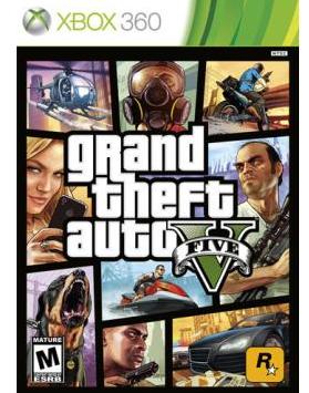 Grand Theft Auto V - Xbox 360 Only $29.99 + FREE Store Pickup (Reg. $60)!
