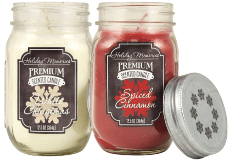 Holiday Memories 10-17 oz. Large Jar Candles Only $1.68 Down From $11.99 At Kohl's!