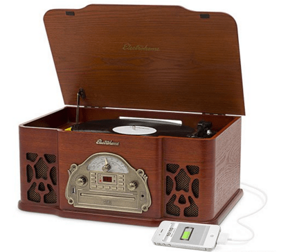 Electrohome Wellington Record Player Just $125.96 From $249.99! FREE Shipping!