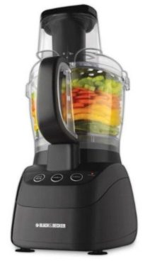 Black & Decker Wide Mouth 10-Cup Food Processor Just $24.97!  Down From $60!