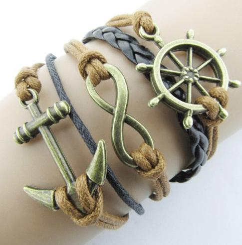 nautical bracelet set