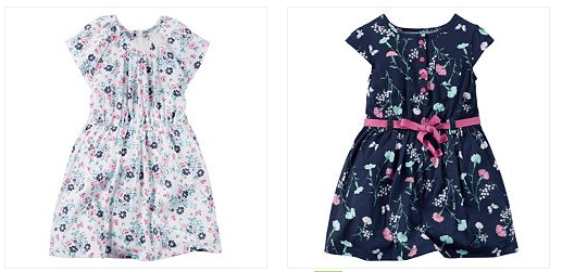 Girls' Spring Dresses Only $5.95! Down From Up To $26.00!