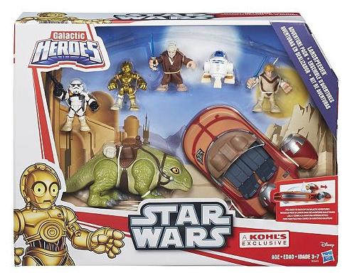 Star Wars Galactic Heroes Landspeeder Adventure Pack Only $17.49! Down From $69.99!