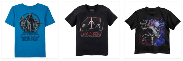 Toddler Or Boy's Star Wars Tees As Low As $4.08! Down From Up To $18.00! And More!