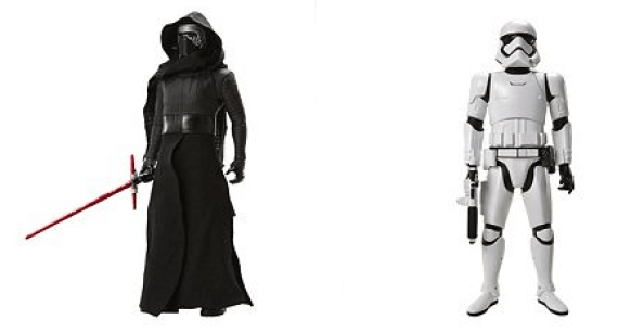 Giant Star Wars Figures Only $15.39! Down From $55!