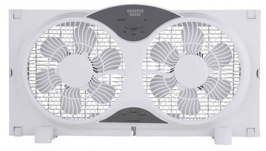 "Sharper Image 9"" Dual Window Fan Just $47.99! Down From $200! Ships FREE!"