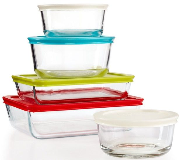 Pyrex 10-Piece Simply Store Set Just $14.99 At Macy's!