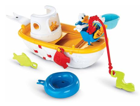 Fisher Price Mickey Mouse Clubhouse Quacky Fishin' Boat Just $9.04! Down From $18.99!