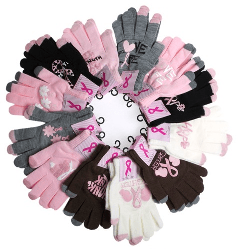 Breast Cancer Awareness Ladies Texting Gloves Only $2.99! Down From $19.99! Ships FREE!