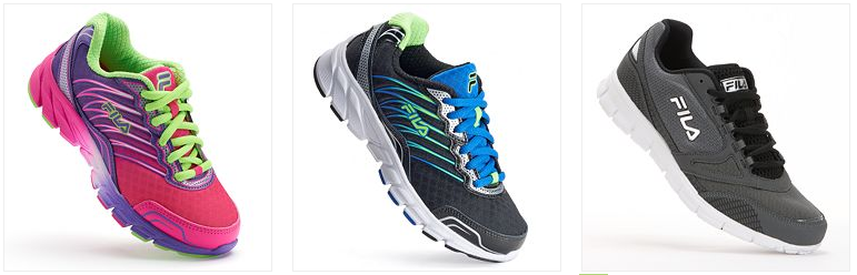FILA Running Shoes Only $15.32! Down From Up To $74.99!