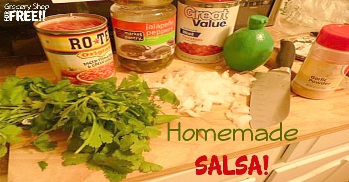 Homemade Salsa!