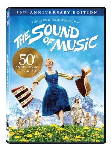 The Sound Of Music 50th Anniversary Edition DVD Just $9.96! Down From $19.98!