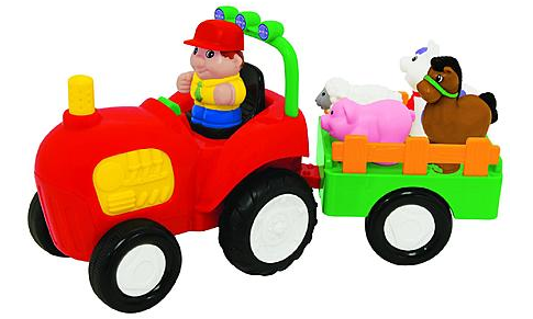 Just Kidz Press n' Learn Activity Tractor Just $9.99 Down From $20.00!