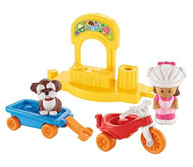 Fisher-Price Little People Trike & Trailer Play Set by Fisher Price Just $5.99 Down From $9.99!
