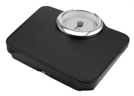 Doctor Scale with Chrome-Plated Decoration Ring Just $8.98! Down From $18.00!