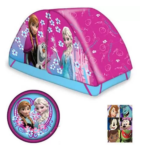 Frozen Bed Tent with Pushlight Just $17.98! Down From $29.98!