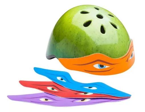 Teenage Mutant Ninja Turtles Helmet with 4 Bandanas Just $11.50! Down From $19.96!
