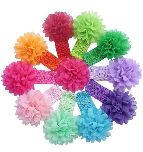 10 Piece Baby's Headbands