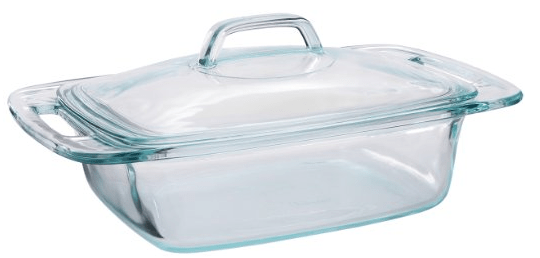 Pyrex Easy Grab 2 Quart Casserole With Glass Cover