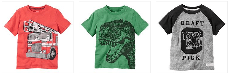 Carter's Spring Baby Tees Only $4.00! Down From Up To $12.00!