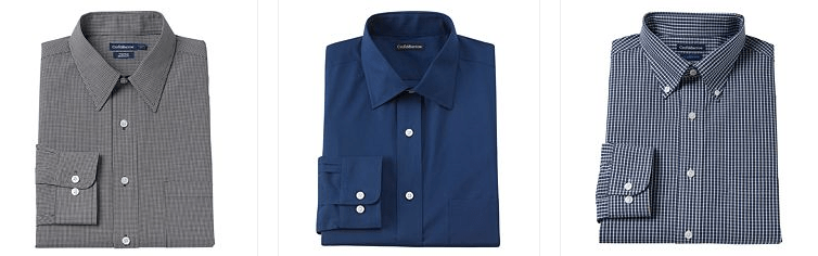 Men's Croft & Barrow Dress Shirts Only $5.25! Down From Up To 32.00!
