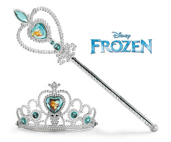 Disney's Frozen Dress-Up Wand And Tiara Set Just $7.50! Down From $19.99!
