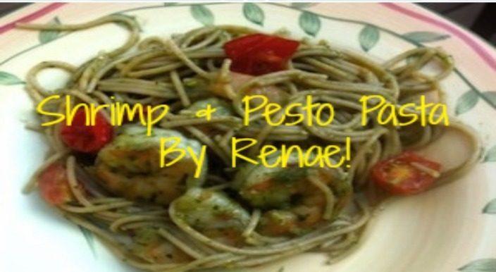 Shrimp & Pesto Pasta Recipe!