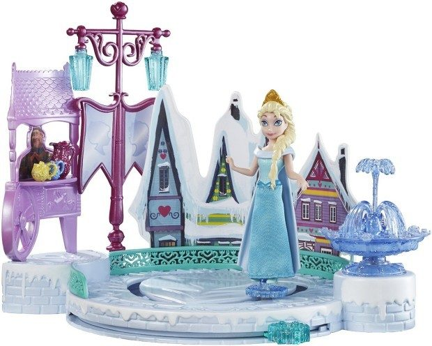 Disney Frozen Elsa's Ice Skating Rink Playset Just $10.50!  (Reg. $20)