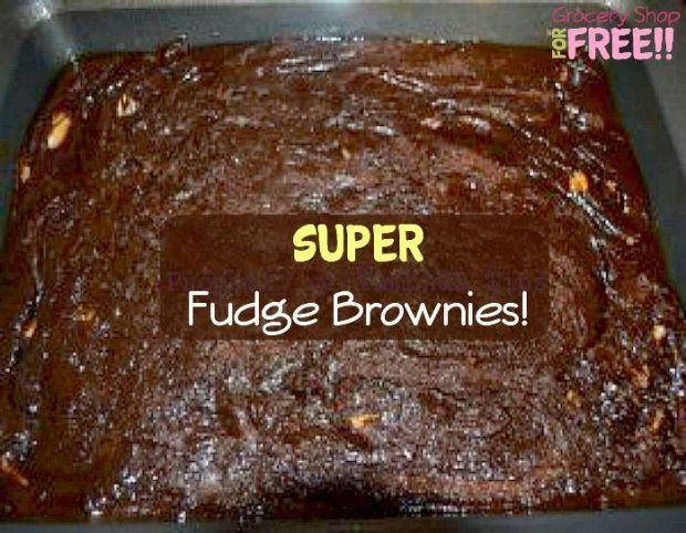 Super Fudge Brownies From Scratch Recipe!