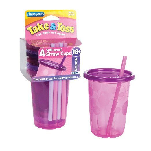 The First Years Straw Cup Take and Toss, 4 count Just $2.76! (reg. $8.99)
