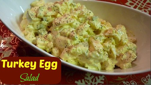 Turkey Egg Salad!