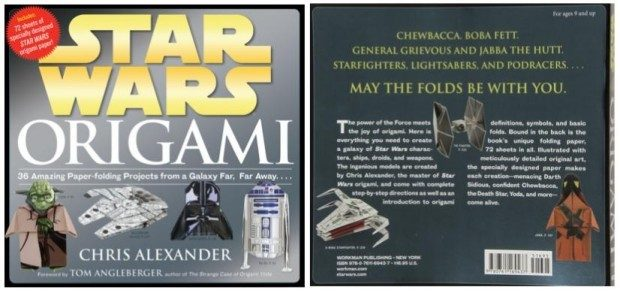 Star Wars Origami: 36 Amazing Paper-folding Projects Just $10 Down From $17!