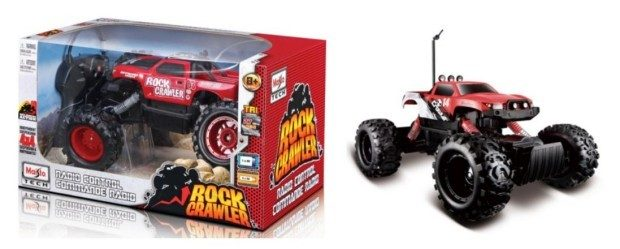 Maisto R/C Rock Crawler Radio Control Vehicle Just $22.88!  Down From $61.99!