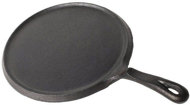 Utopia Kitchen Pre-Seasoned Cast Iron Round Griddle Just $12.91! (reg. $39.99)