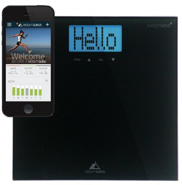 Weight Gurus Digital Bathroom Scale with Large Backlit LCD and Smartphone Tracking Just $19.99!