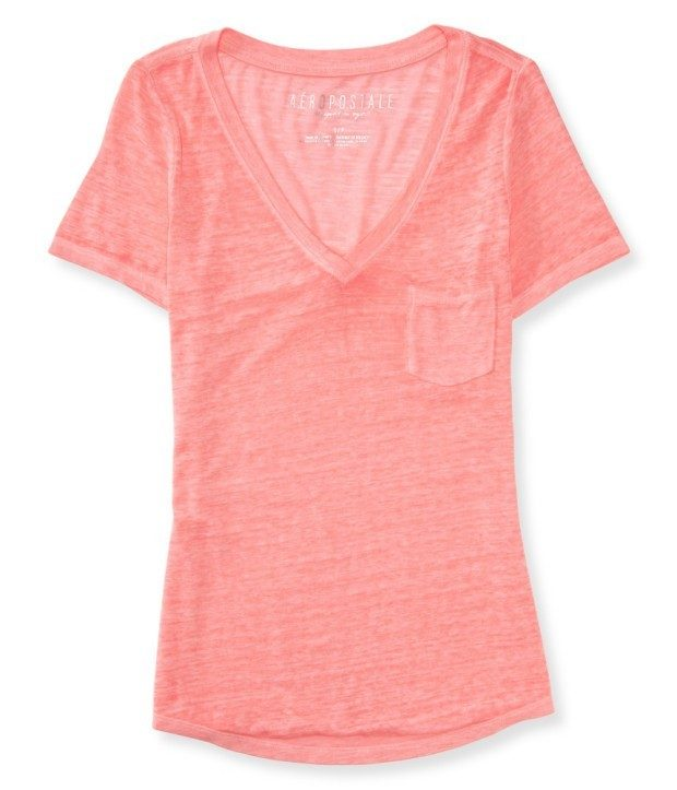 Shop Like an Employee - Get Additional 30% Off Everything At Aeropostale!  This V-Neck Pocket Tee is normally $19.50 but is currently marked down to $8!  With the additional 30% off (Use Promo Code FF15) it is now only $5.60!