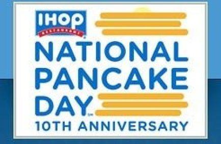 FREE Pancakes At IHOP!