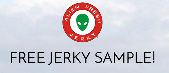 FREE Alien Fresh Jerky Sample!
