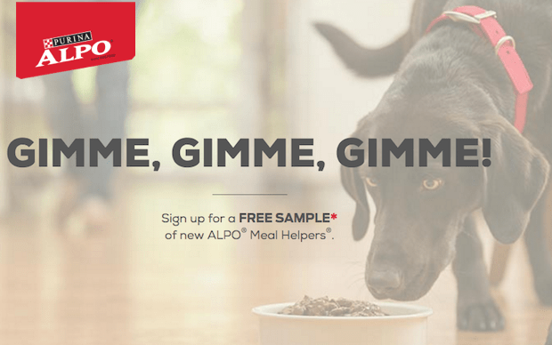 FREE Sample of Alpo Meal Helpers!