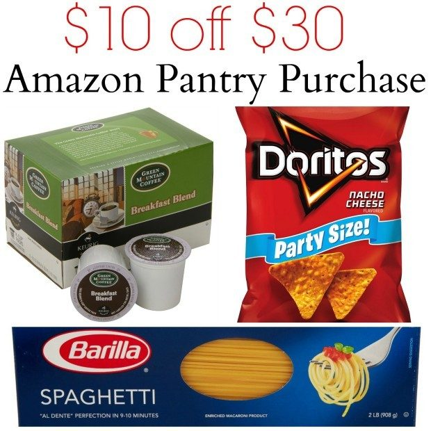 Get $10 Off A $30 Grocery Purchase At Amazon!