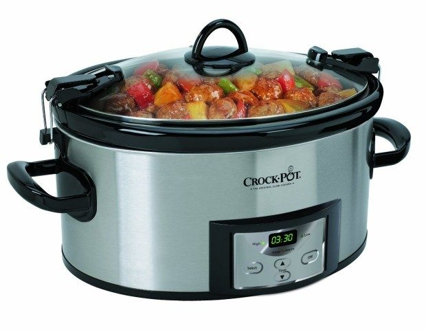 Crock-Pot Programmable Cook and Carry Oval Slow Cooker Just $40.79!
