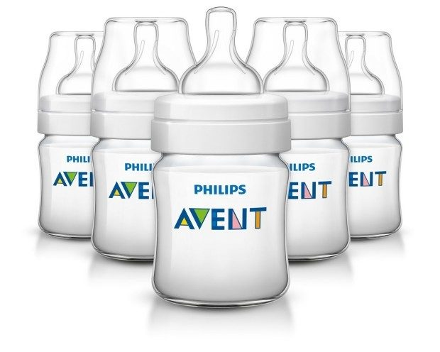 Philips AVENT Classic Plus Bottles, 4 Oz 5 Pk Only $19.78!