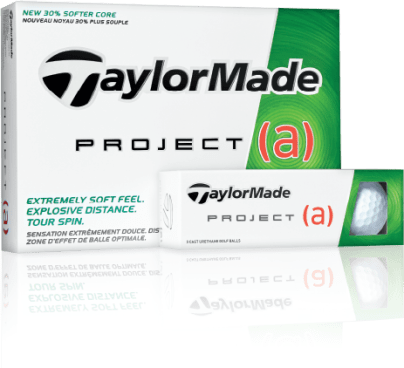 FREE Sleeve TaylorMade Project [a] Golf Balls!