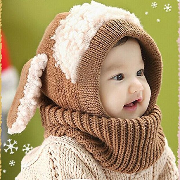 Baby's Animal 1 Pc Hat / Scarf Only $5.99 Shipped!