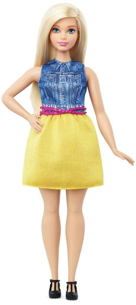 Barbie Fashionistas Doll 22 Chambray Chic - Curvy Only $7.94! (Reg. $12)