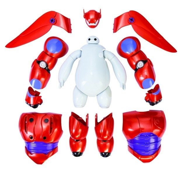 Big Hero 6 Armor-Up Baymax Action Figure Just $16.58!